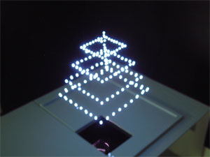 The laser projector that creates real 3D shapes in the air!